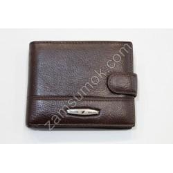 Мужской кошелек кожаный коричневый Tailian 120 Н09