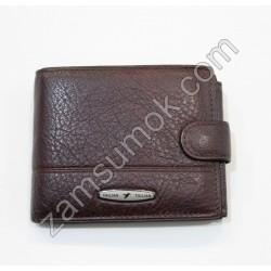 Мужской кошелек кожаный коричневый Tailian 151 Н09