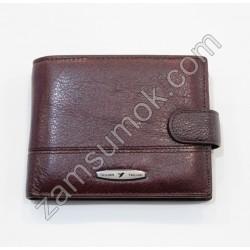 Мужской кошелек кожаный коричневый Tailian 152 Н09