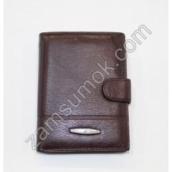 Мужской портмоне кожаный коричневый Tailian 227 Н09