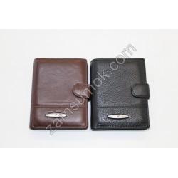 Мужской портмоне кожаный черный Tailian 247 Н09