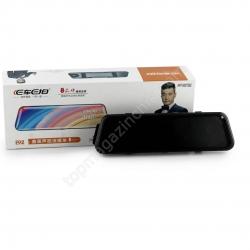 DVR E92 зеркало с двумя камерами 1080P full screen 10''