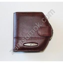 Женский кошелек домик кожаный Коричневый 704 H09 Tailian