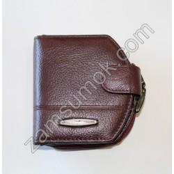 Женский кошелек домик кожаный Коричневый 708 H09 Tailian