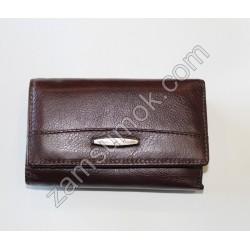 Женский кошелек кожаный Коричневый 711 H09 Tailian