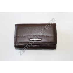 Женский маленький кошелек кожаный Коричневый 716 H09 Tailian