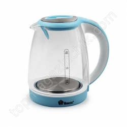 Электрический чайник Domotec MS-8111 1.8л 2200Вт Голубой