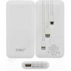 POWER BANK LP303 10000mah +cable IP/v8/typeC (реальная емкость 10000mah)