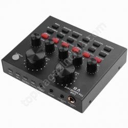 Звуковая Карта Аудио Внешняя V8 USB-гарнитура для Микрофона