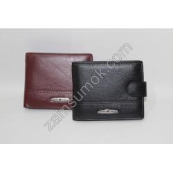 Мужской кошелек кожаный коричневый Tailian 157 Н09