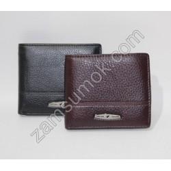 Мужской кошелек кожаный коричневый Tailian 116 Н09