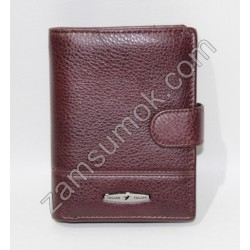 Мужской портмоне кожаный коричневый Tailian 265 Н09