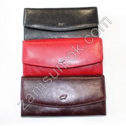 Женский кошелек кожаный Черный Braun Buffel-6013