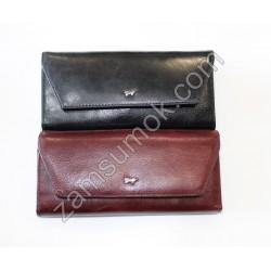 Женский кошелек кожаный черный Braun Buffel-653