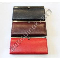 Женский кошелек кожаный Коричневый Braun Buffel -650