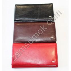 Женский кошелек кожаный Красный Braun Buffel -698