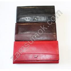 Женский кошелек кожаный Черный Braun Buffel-6016