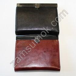 ЖЖенский кошелек кожаный Черный Braun Buffel-652