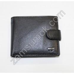 Мужской кошелек кожаный Черный Braun Buffel 5011