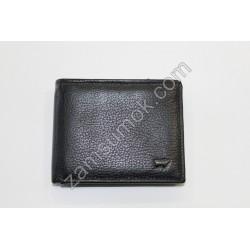 Мужской кошелек с зажим кожаный Черный Braun Buffel 2142
