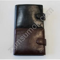 Мужской кошелек кожаный Черный Braun Buffel 605