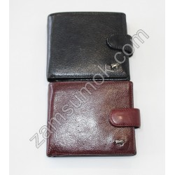 Мужской кошелек кожаный Черный Braun Buffel 617