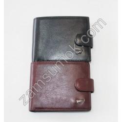 Мужской кошелек кожаный черный Braun Buffel 640