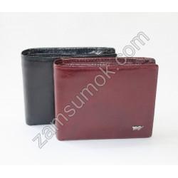 Мужской кошелек кожаный коричневый Braun Buffel 687