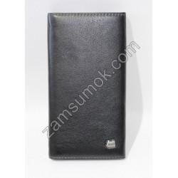 Мужской Купюрник кожаный Черный 726 Anil