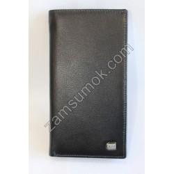 Мужской купюрник кожаный Черный 735 Anil