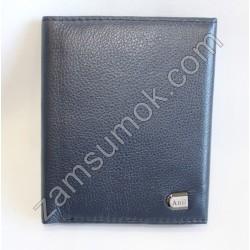 Женский кошелек кожаный Синий 806D Anil
