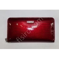 Женский кошелек кожаный Бордовый B64-569 Balisa