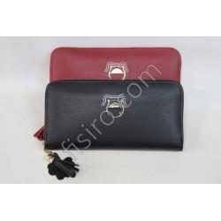 Женский кошелек кожзам Красный F101