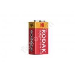 Батарейка в коробке KODAK Super Heavy Duty ZINC 6F22 (1 шт.)