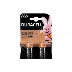 Батарейки Duracell AAA LR03/MN2400 (4 шт.)