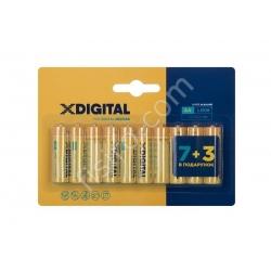 Батарейки X-DIGITAL AA LR06 (10 шт.)